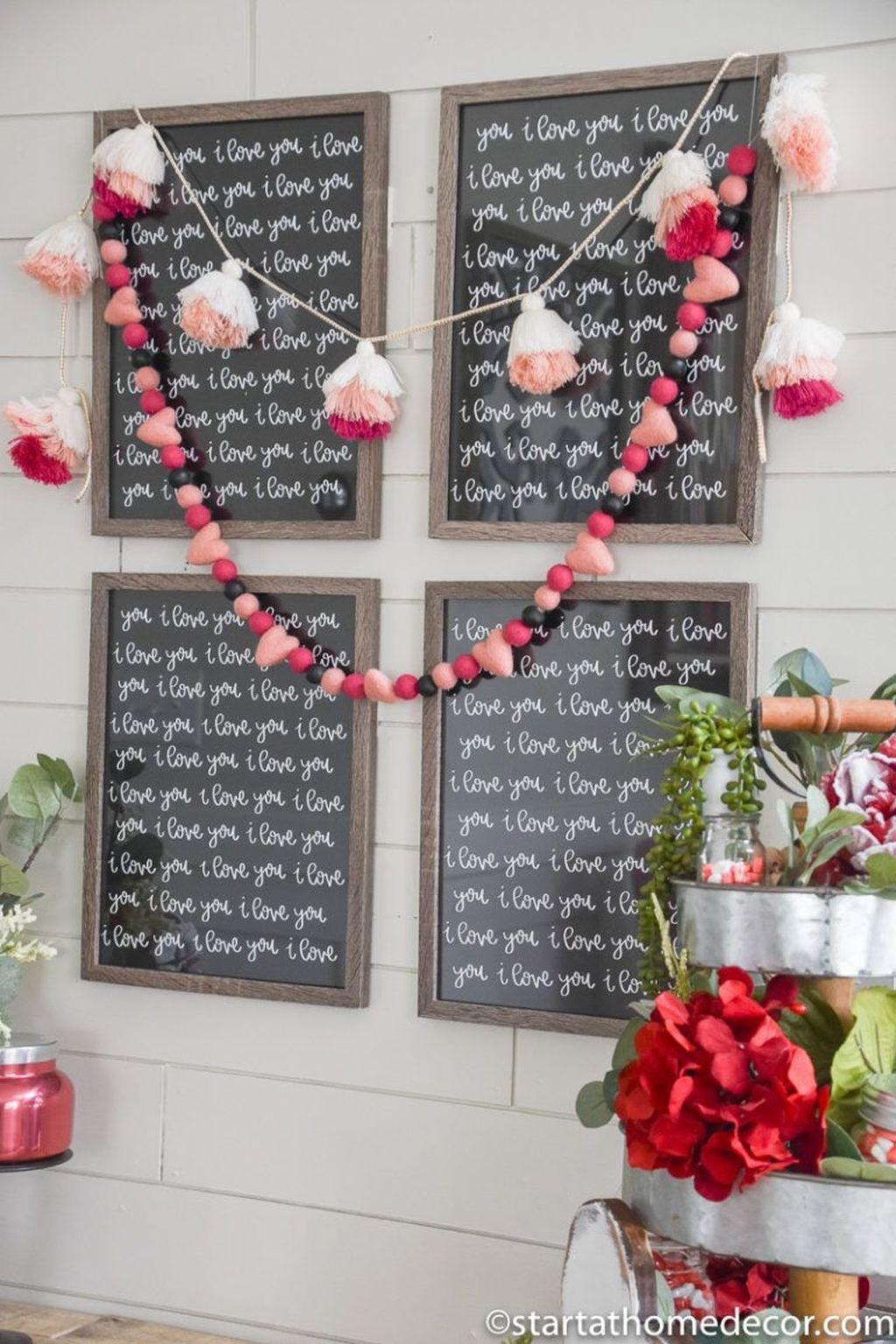 Beautiful Valentine Interior Decor Ideas To Make Him Amazed 19