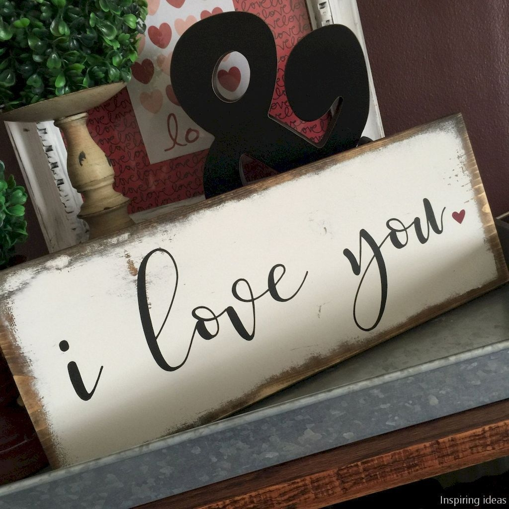 Cute Farmhouse Style Valentine Decorations 11