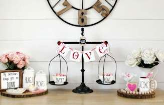 Cute Farmhouse Style Valentine Decorations 19