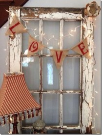 Cute Farmhouse Style Valentine Decorations 26
