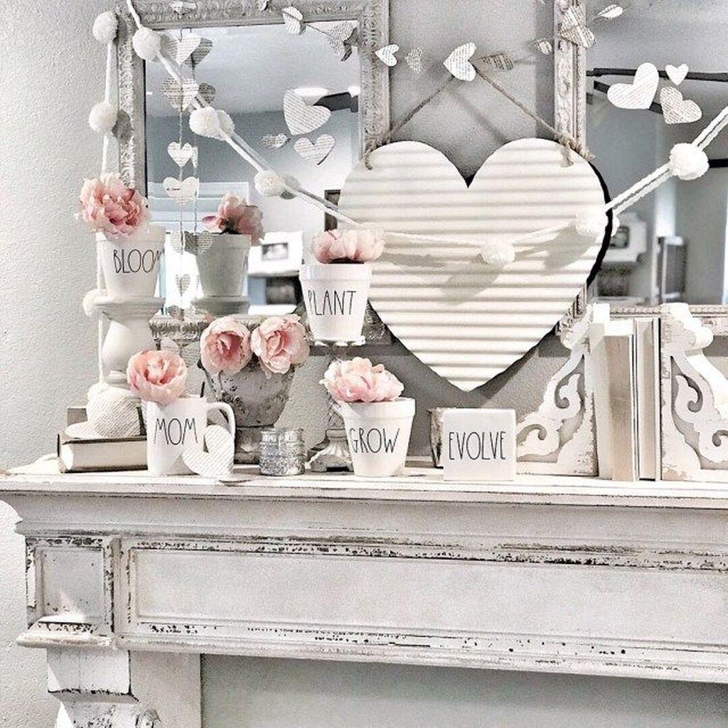 Cute Farmhouse Style Valentine Decorations 32