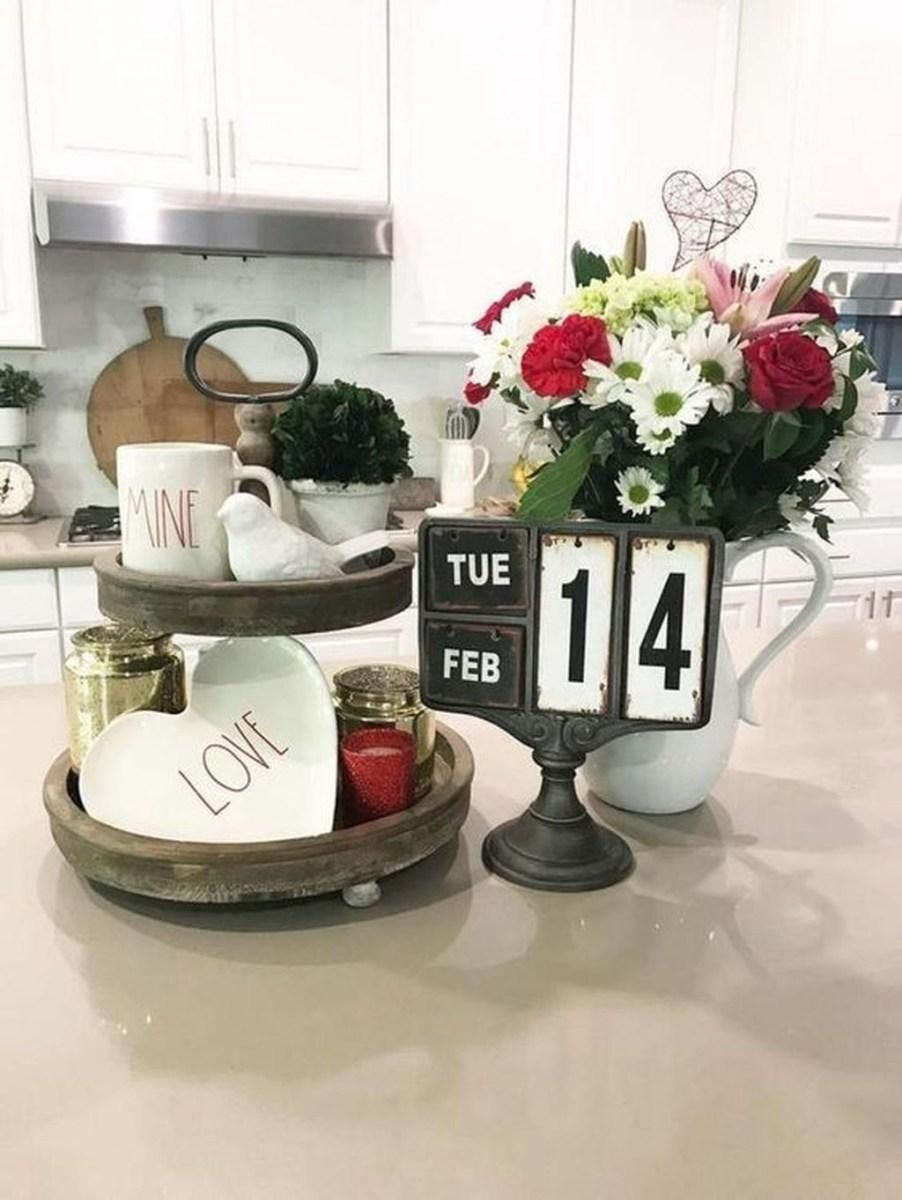Cute Farmhouse Style Valentine Decorations 34