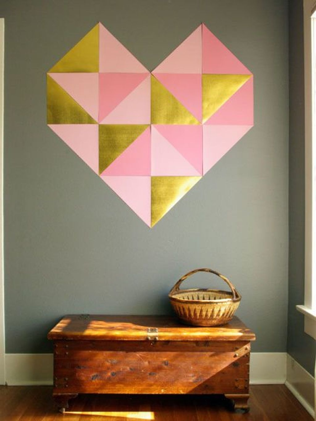 Cute Valentine Wall Art Design Ideas 01