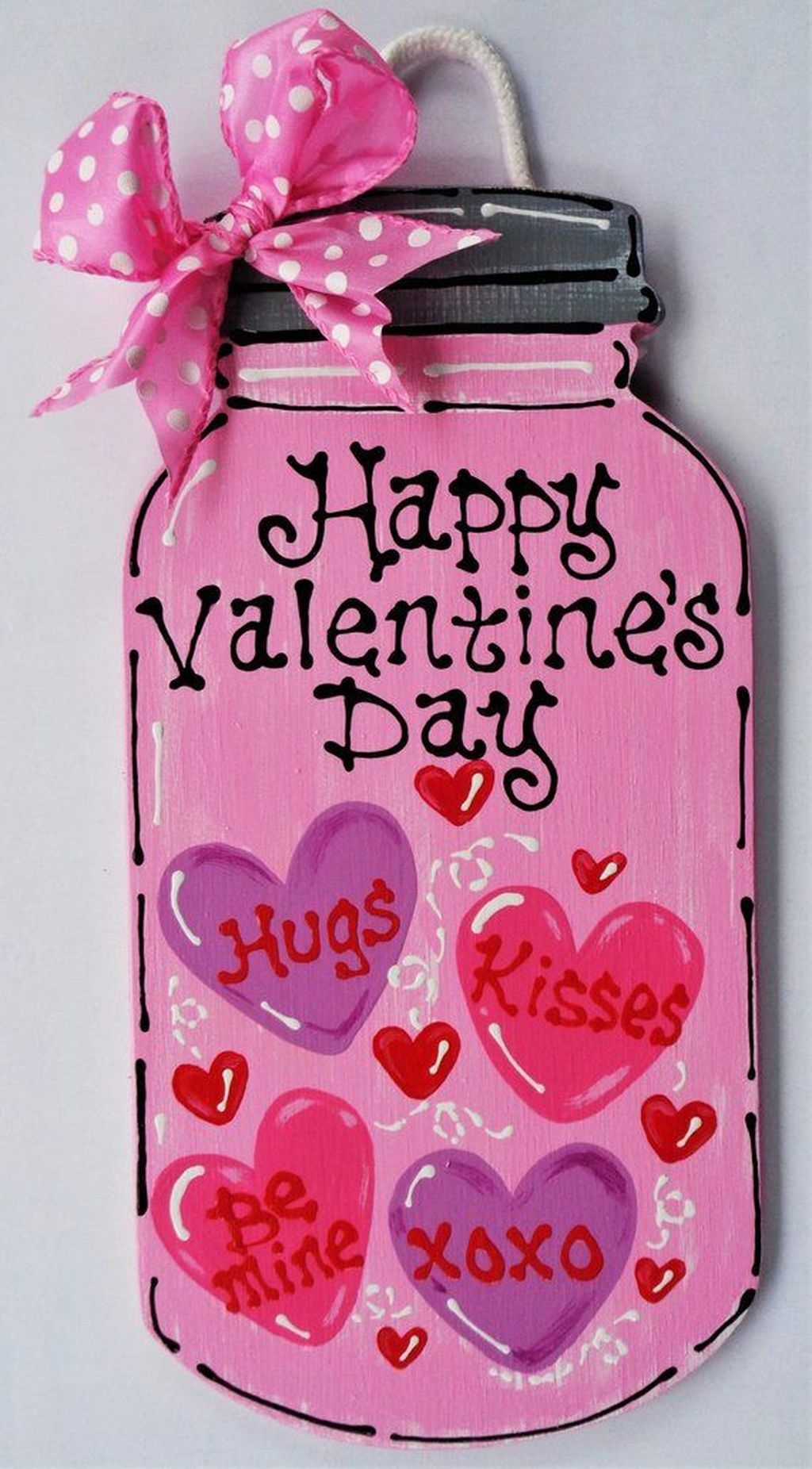 Cute Valentine Wall Art Design Ideas 02
