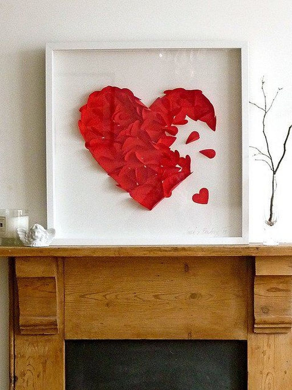 Cute Valentine Wall Art Design Ideas 07