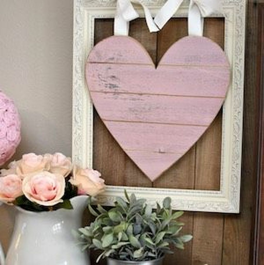 Cute Valentine Wall Art Design Ideas 08