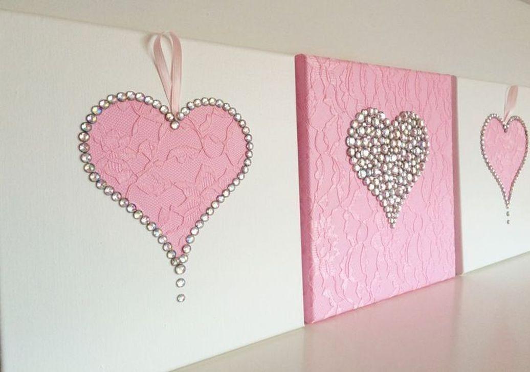 Cute Valentine Wall Art Design Ideas 14