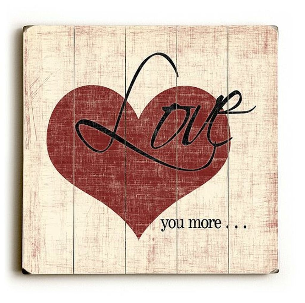 Cute Valentine Wall Art Design Ideas 17