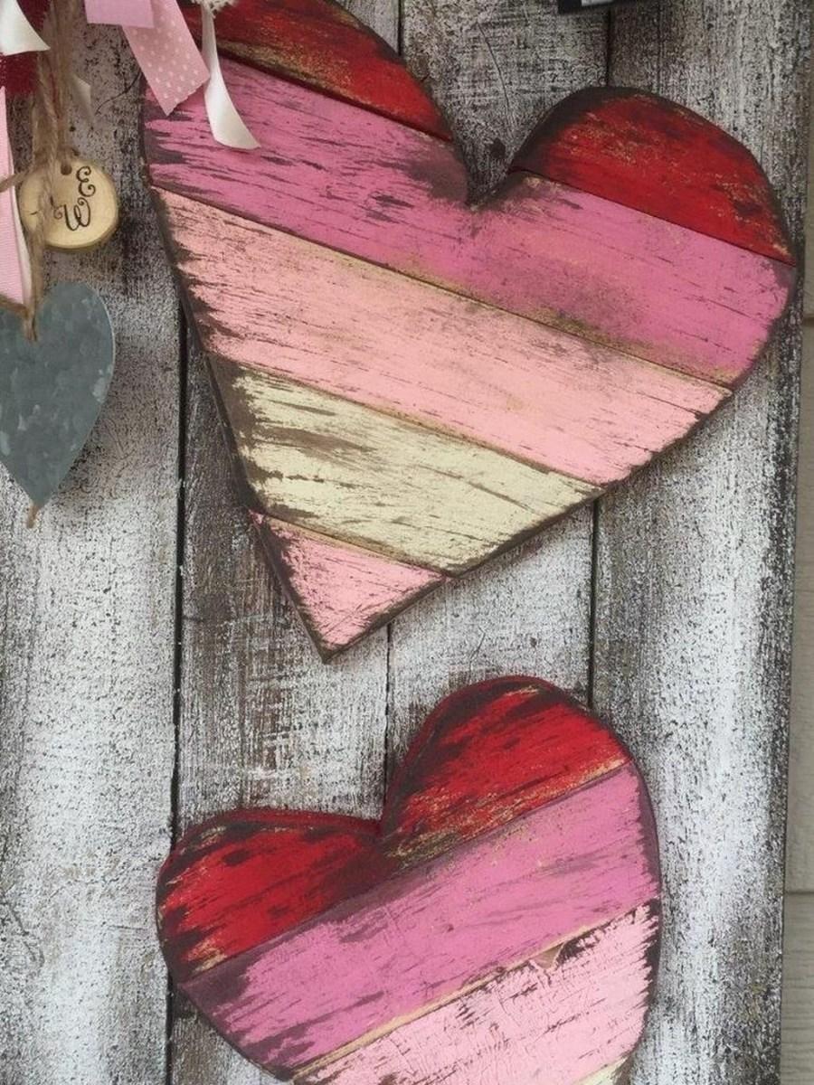 Cute Valentine Wall Art Design Ideas 29