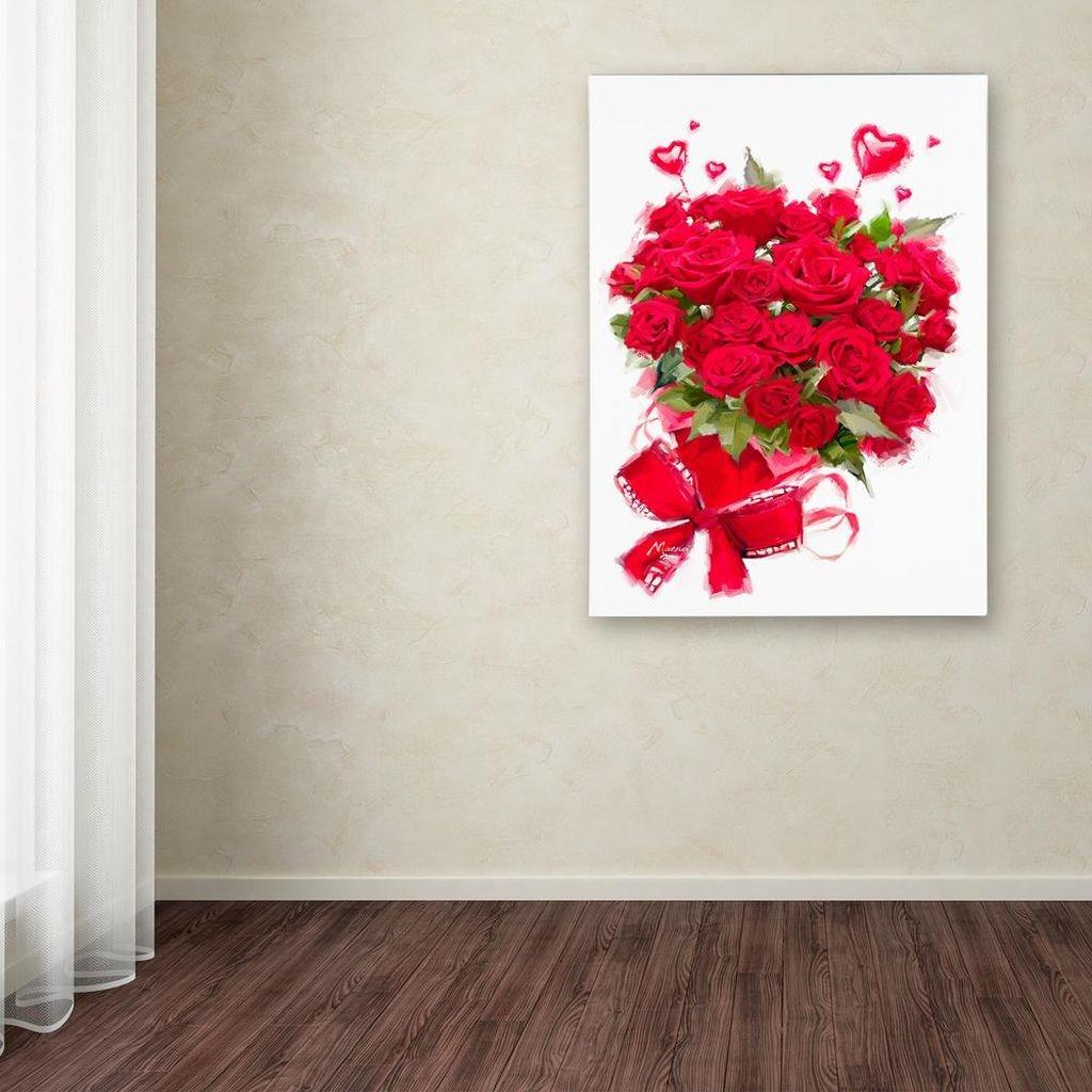 Cute Valentine Wall Art Design Ideas 33