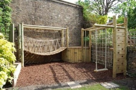 Gorgeous Backyard Playground Kids Design Ideas 12