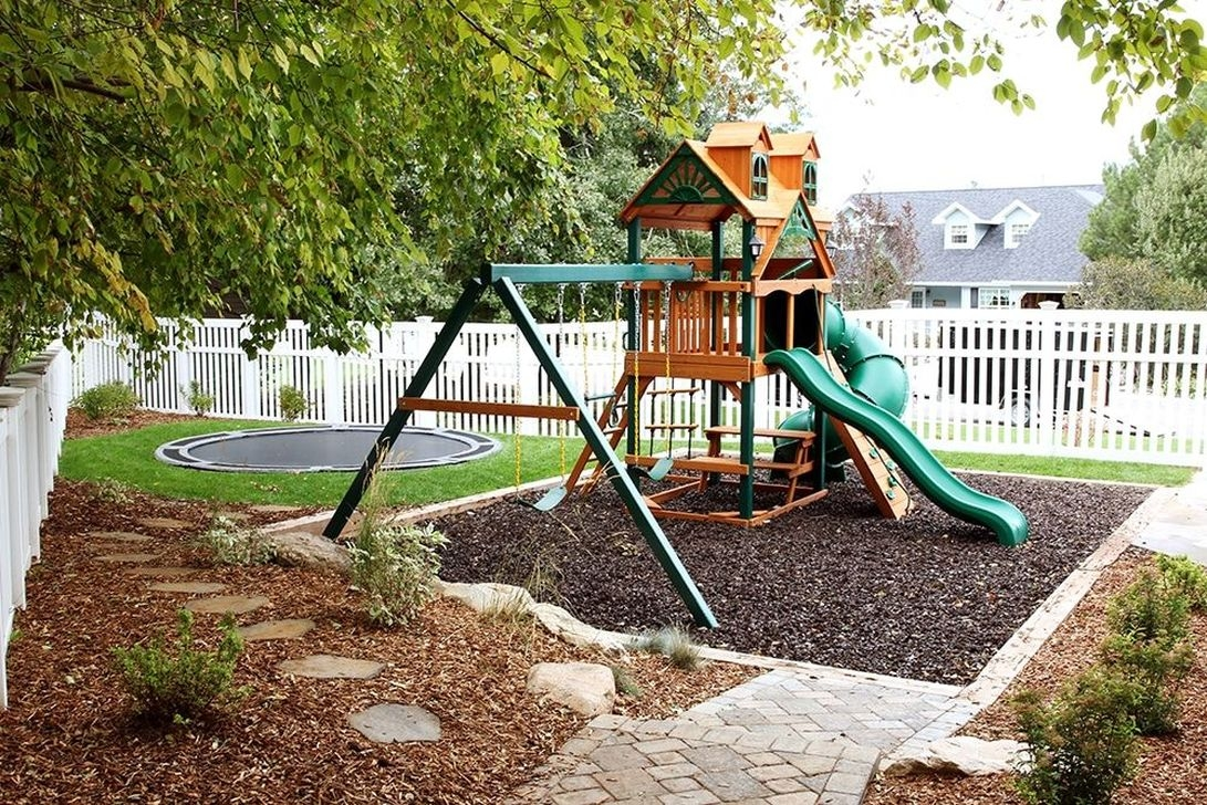 Gorgeous Backyard Playground Kids Design Ideas 15