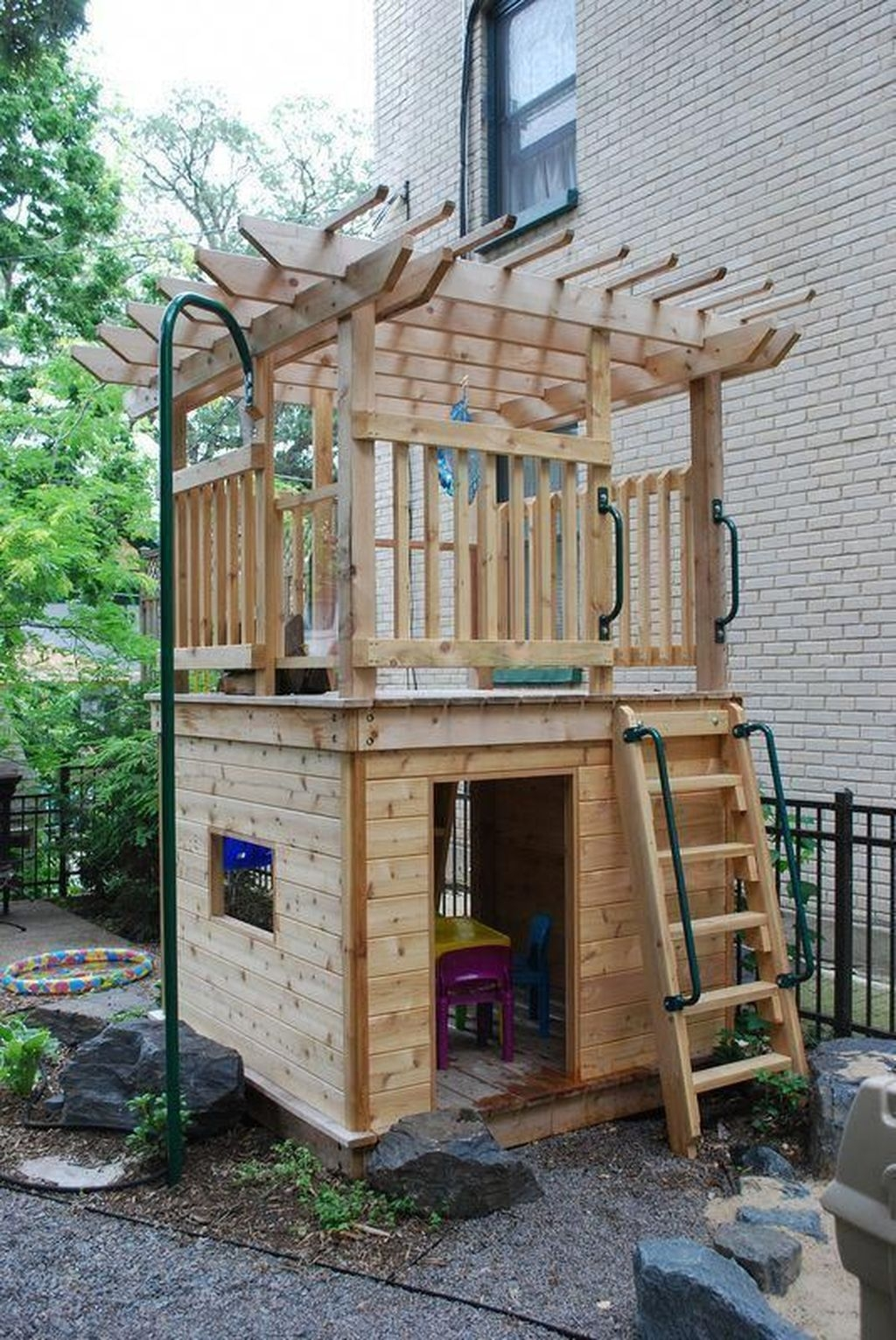Gorgeous Backyard Playground Kids Design Ideas 20