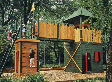 Gorgeous Backyard Playground Kids Design Ideas 28