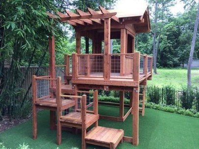 Gorgeous Backyard Playground Kids Design Ideas 30