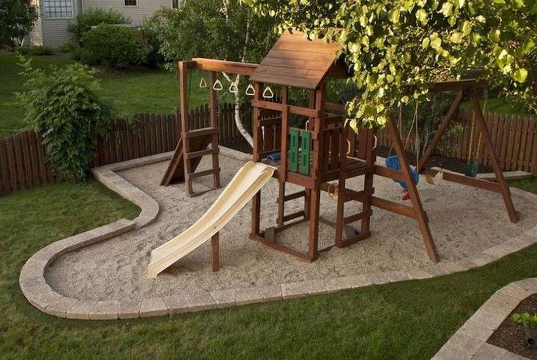 Gorgeous Backyard Playground Kids Design Ideas 31