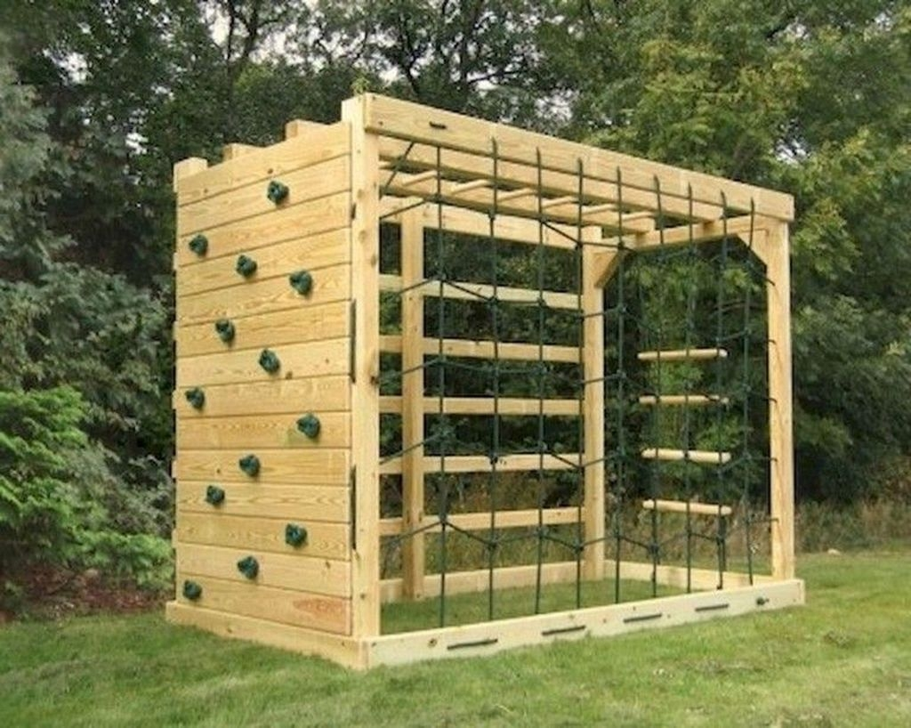 Gorgeous Backyard Playground Kids Design Ideas 32