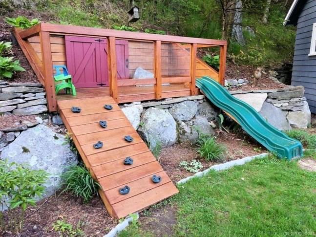 Gorgeous Backyard Playground Kids Design Ideas 34