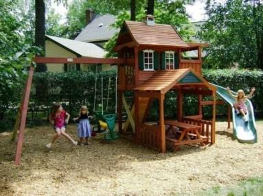 Gorgeous Backyard Playground Kids Design Ideas 43
