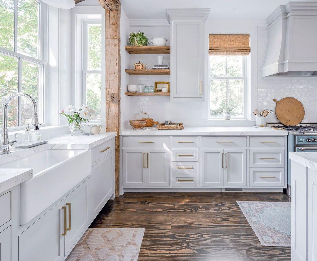 Gorgeous Coastal Kitchen Design Ideas 45