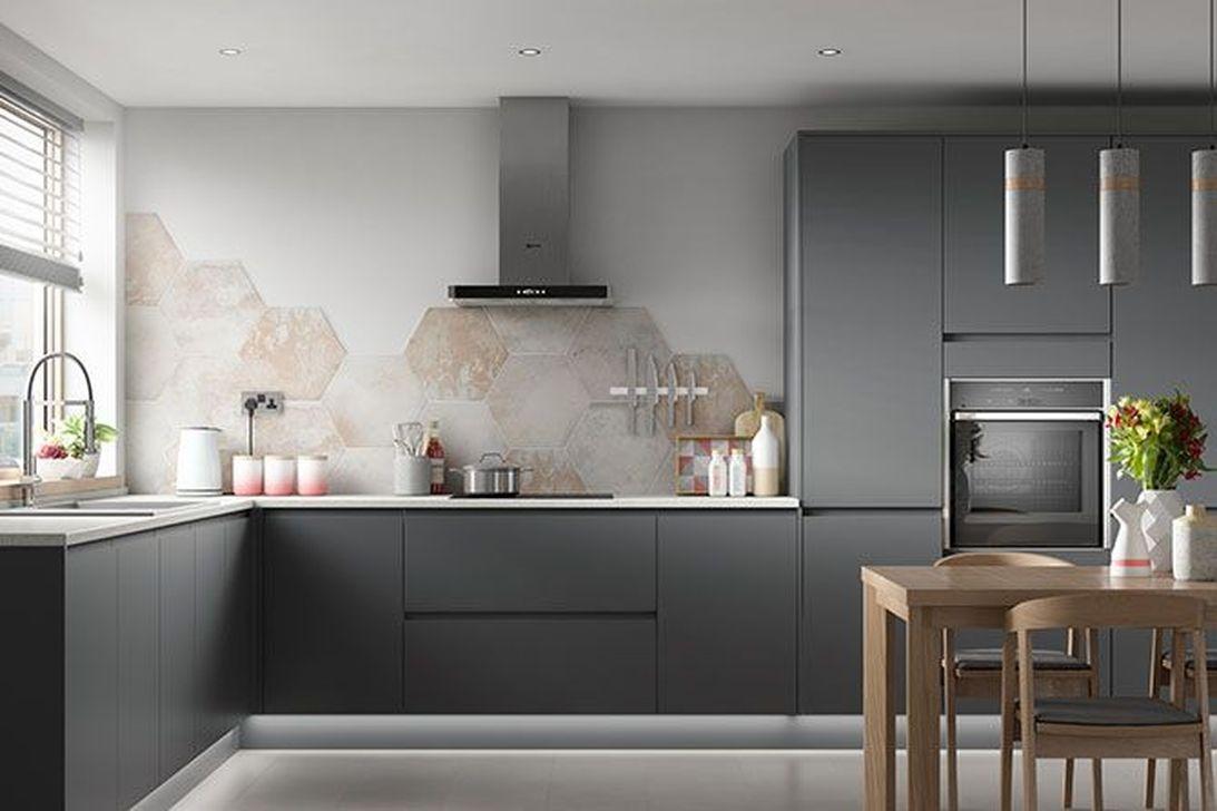 Inspiring Dark Grey Kitchen Design Ideas 01