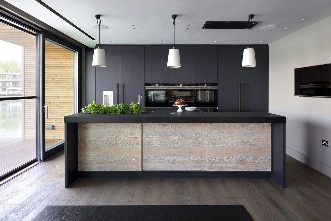 Inspiring Dark Grey Kitchen Design Ideas 02