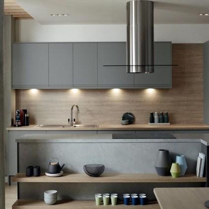 Inspiring Dark Grey Kitchen Design Ideas 05