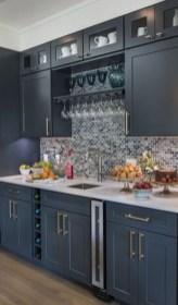 Inspiring Dark Grey Kitchen Design Ideas 11