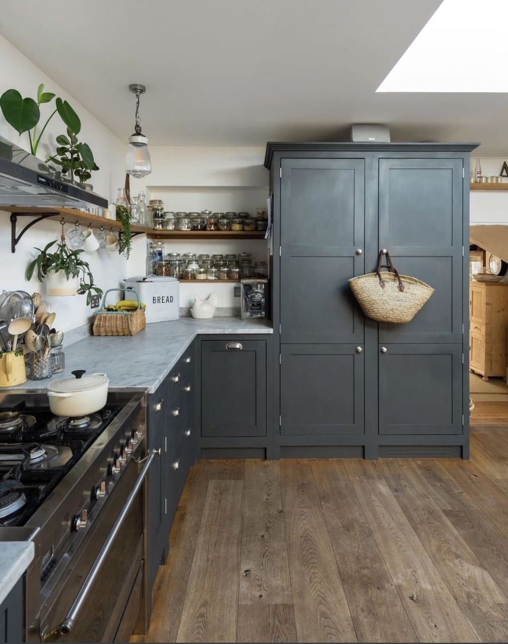 Inspiring Dark Grey Kitchen Design Ideas 23