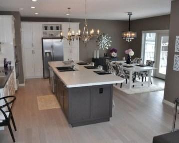 Inspiring Dark Grey Kitchen Design Ideas 34