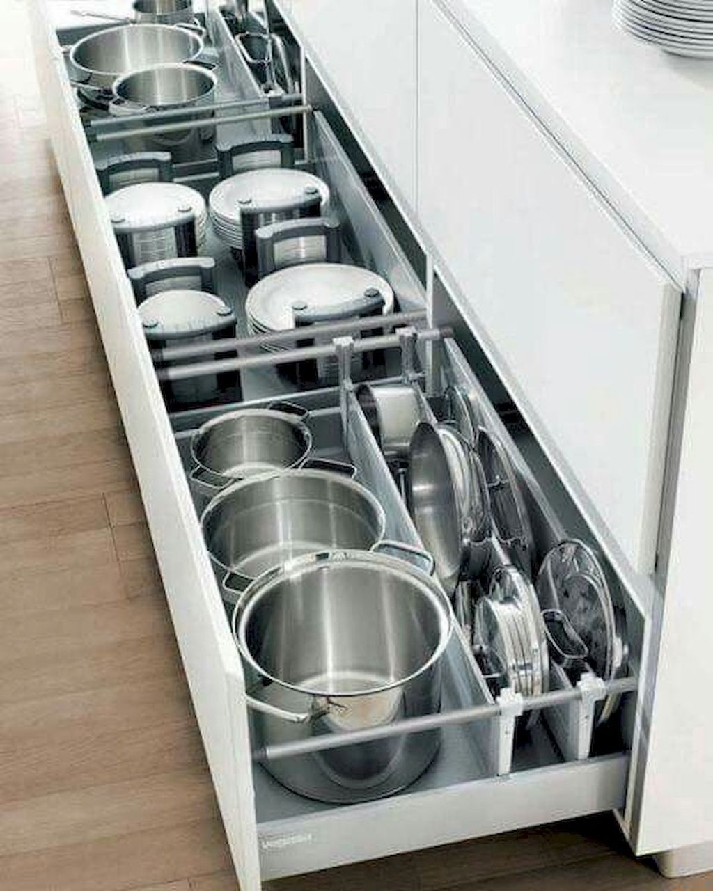 Inspiring Kitchen Storage Design Ideas 27