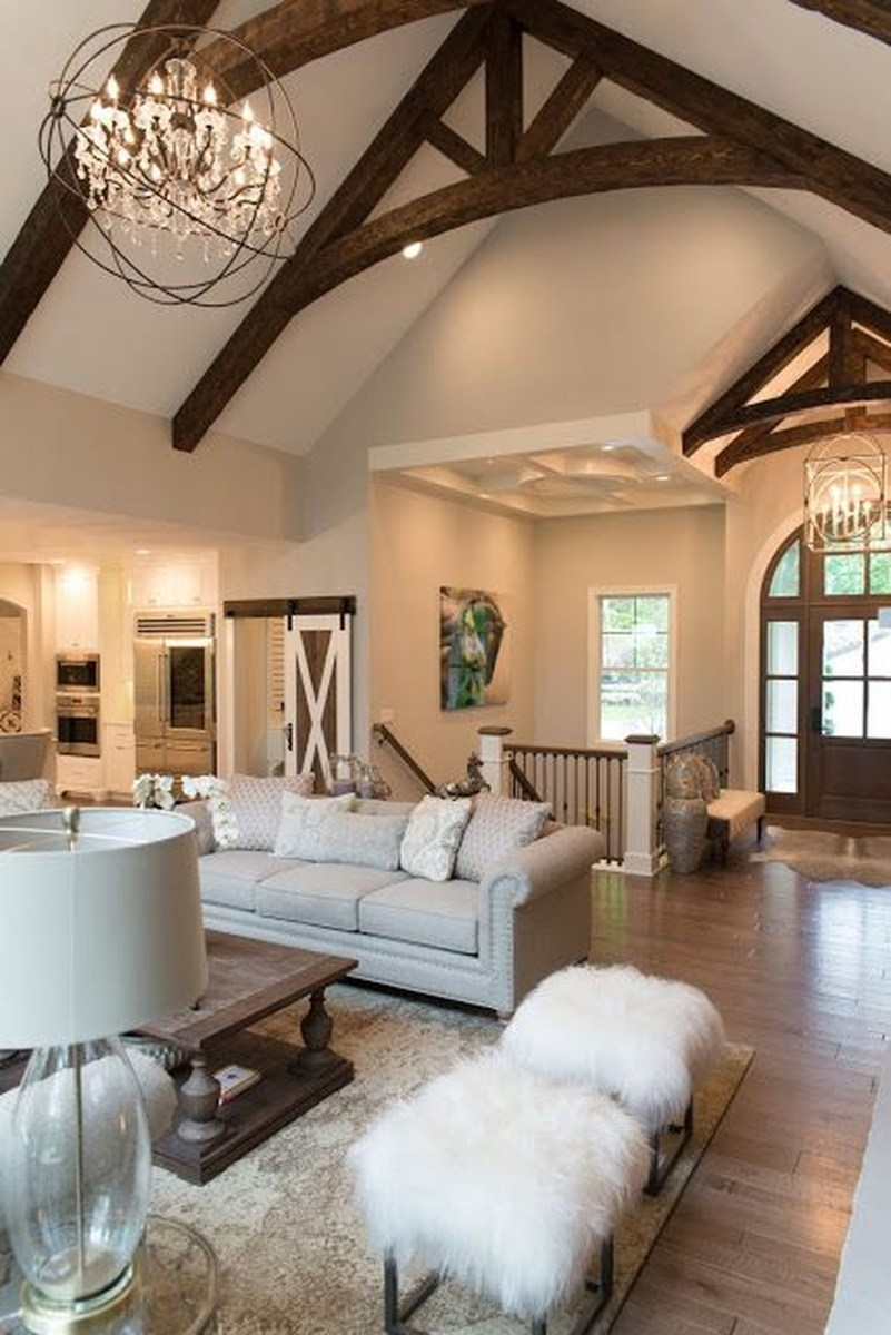 Popular Comfortable Living Room Design Ideas 45