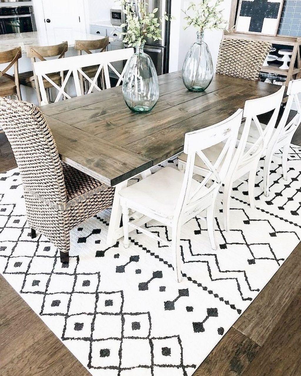 Popular Farmhouse Dining Room Design Ideas Trend 2019 24