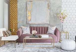 Romantic Living Room Decor With Valentine Themes 11