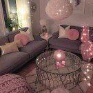 Romantic Living Room Decor With Valentine Themes 42