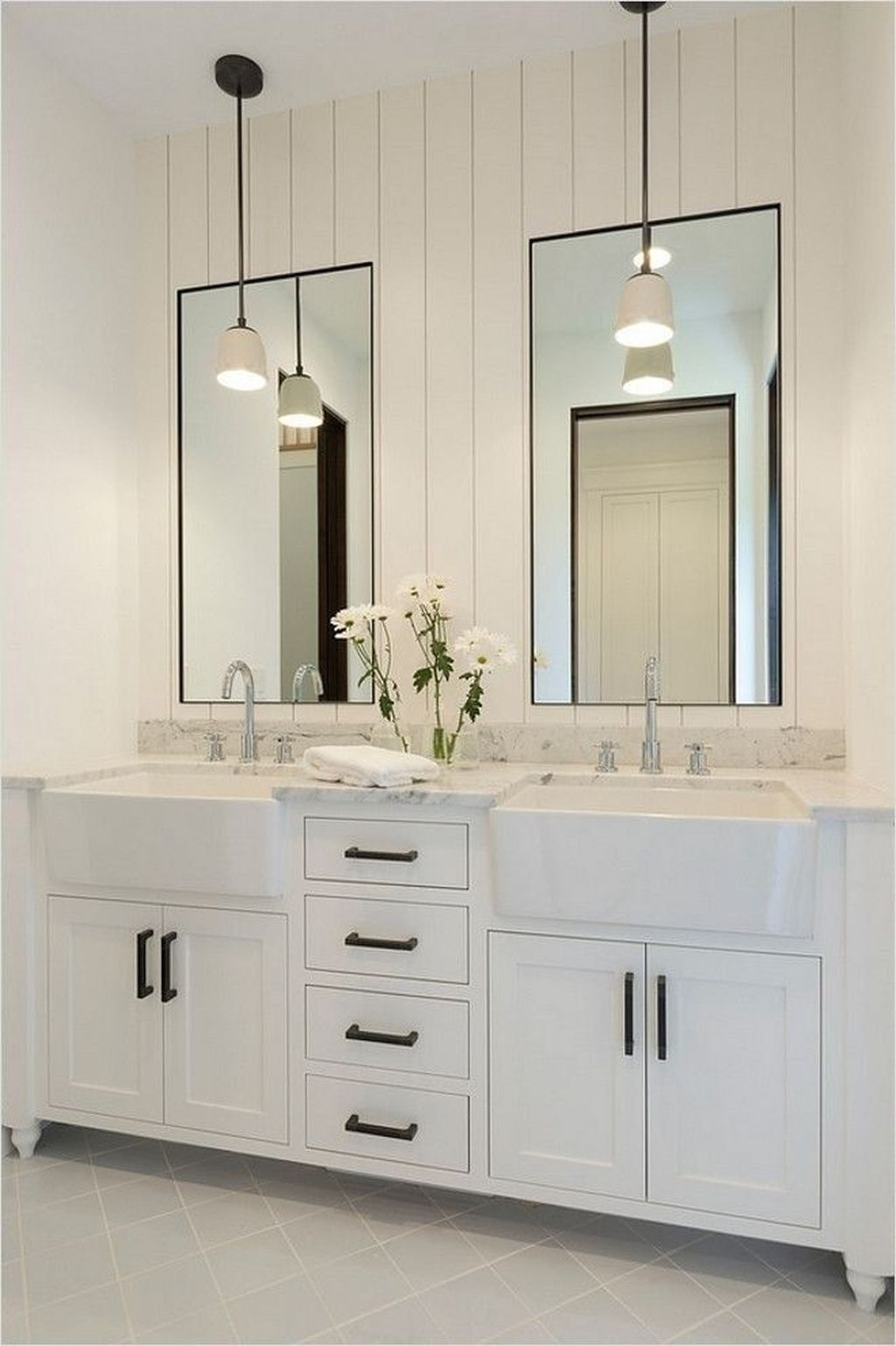 Stunning Bathroom Mirror Decor Ideas 05