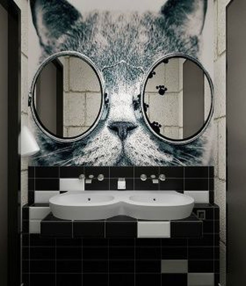Stunning Bathroom Mirror Decor Ideas 19