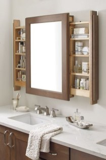 Stunning Bathroom Mirror Decor Ideas 31