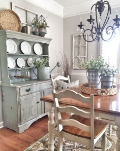 Stunning Farmhouse Dining Room Decoration Ideas 01