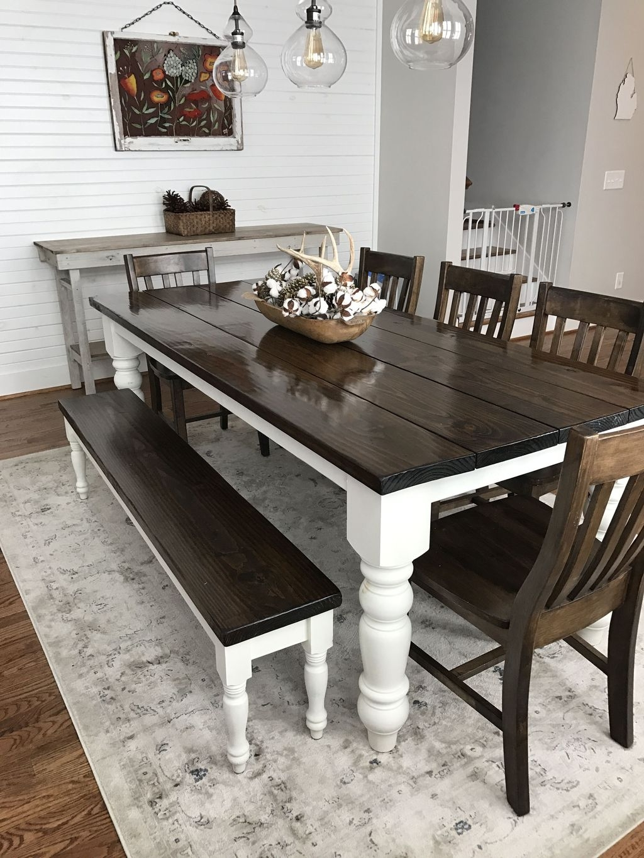 Stunning Farmhouse Dining Room Decoration Ideas 33