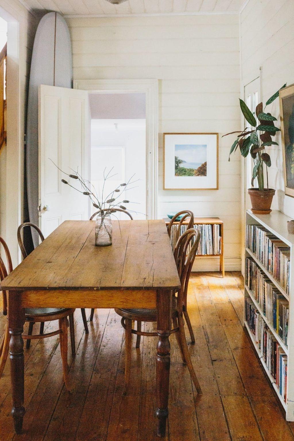 Stunning Farmhouse Dining Room Decoration Ideas 46