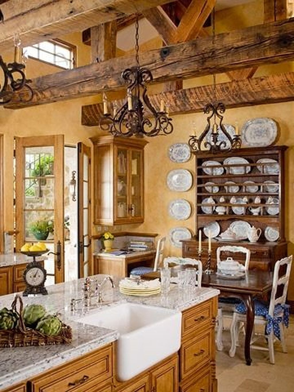 The Best French Country Style Kitchen Decor Ideas 36