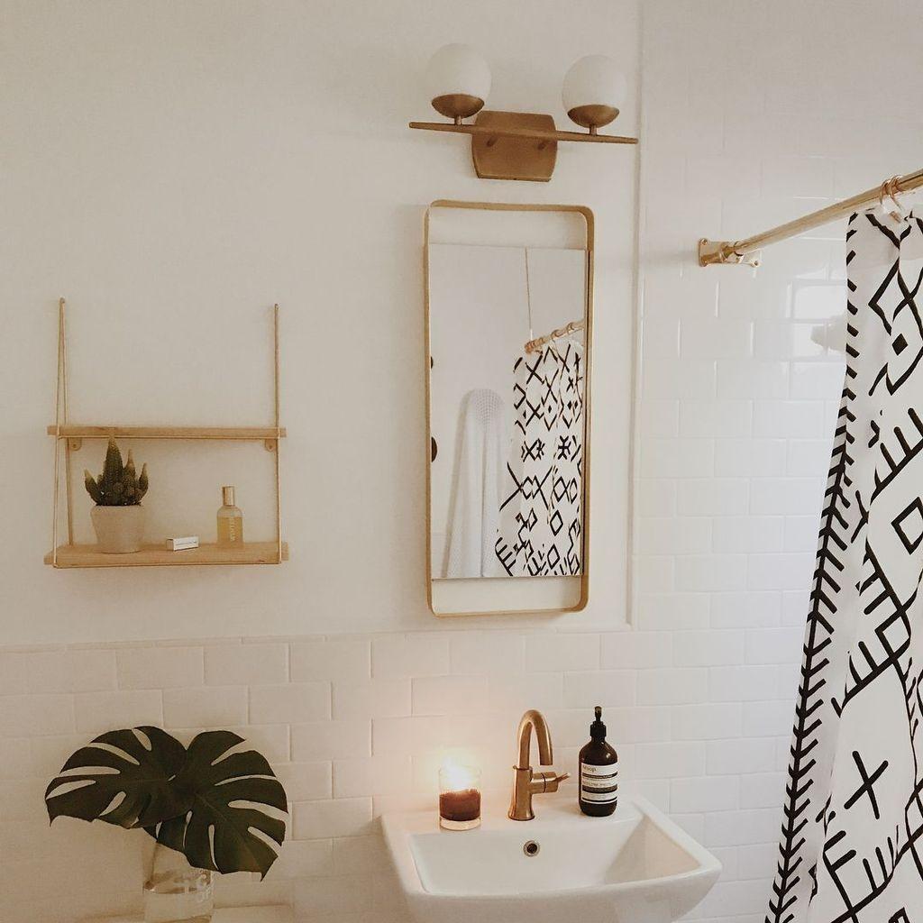 The Best Ideas To Creating Cozy Minimalist Bathroom 42
