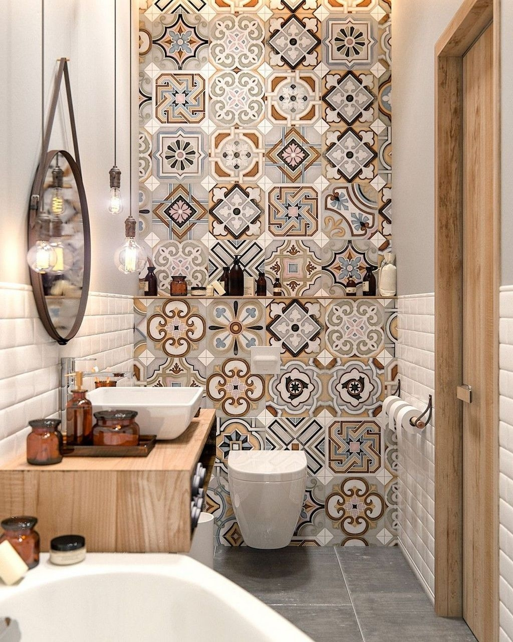 Totally Adorable Small Bathroom Decor Ideas 30