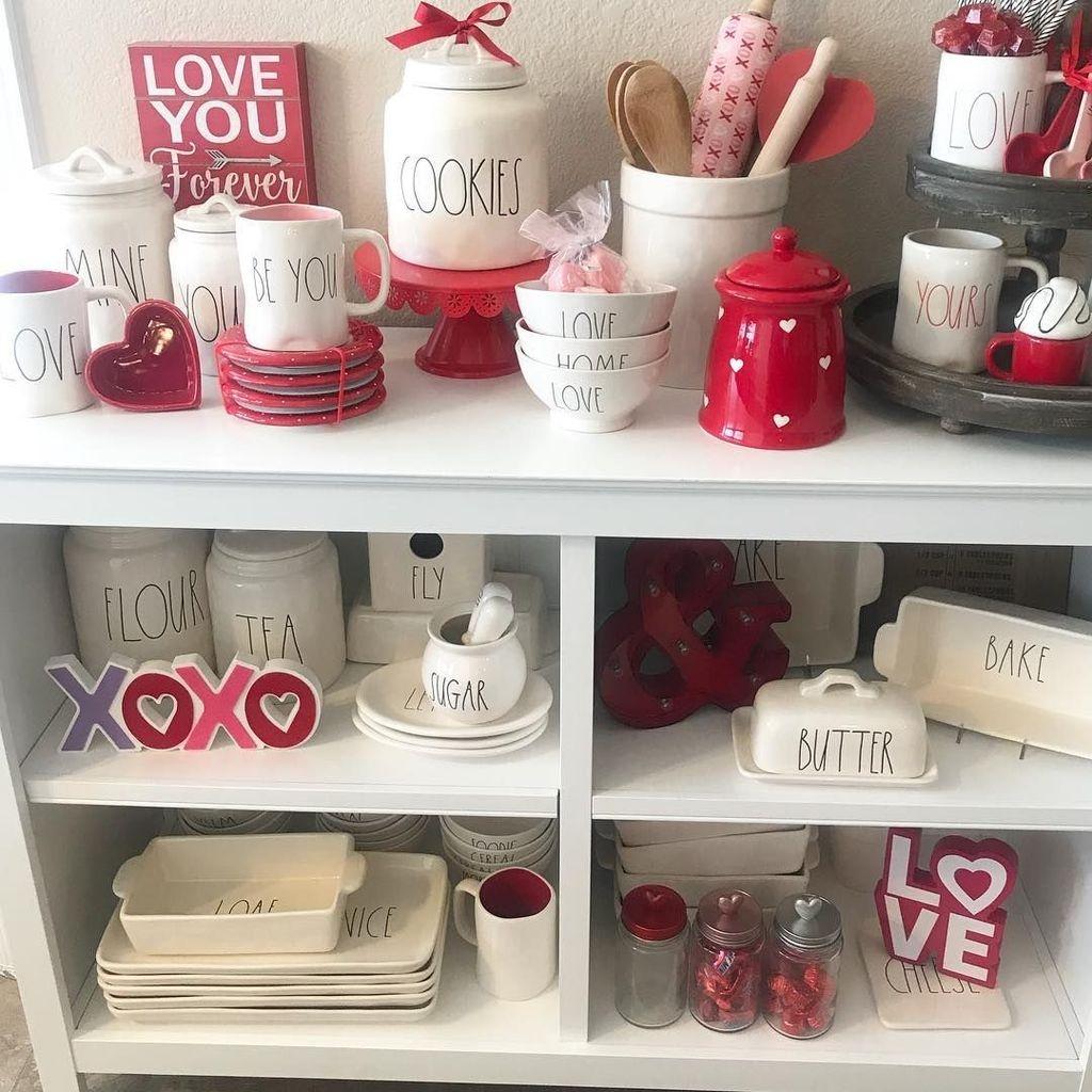 Totally Adorable Valentine Kitchen Decor Ideas 28