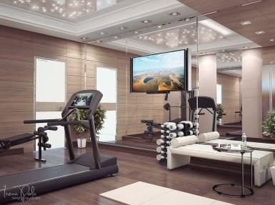 Amazing Home Gym Room Design Ideas 18