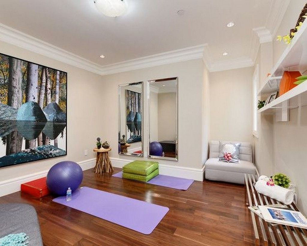 Amazing Home Gym Room Design Ideas 21