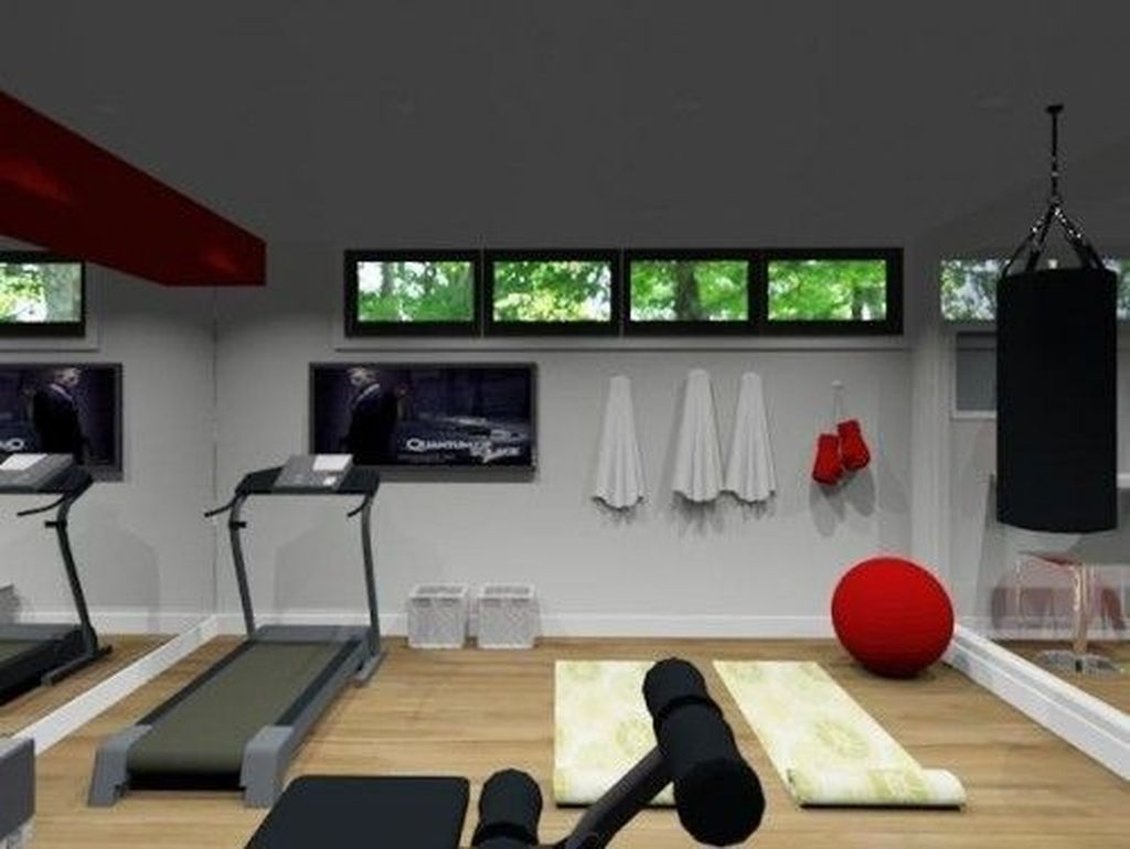 Amazing Home Gym Room Design Ideas 26