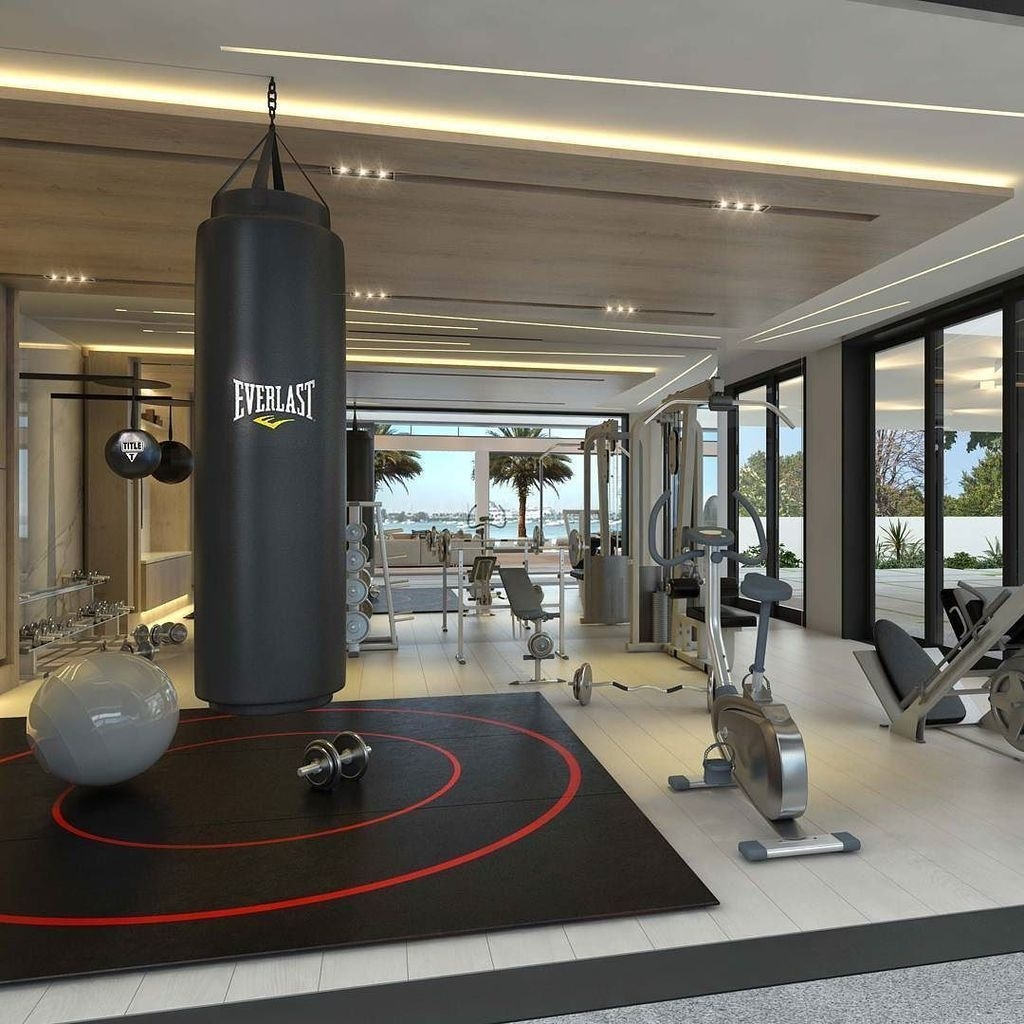 Amazing Home Gym Room Design Ideas 40