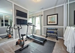 Amazing Home Gym Room Design Ideas 41
